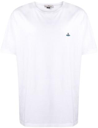 Vivienne Westwood boxy-fit logo T-shirt