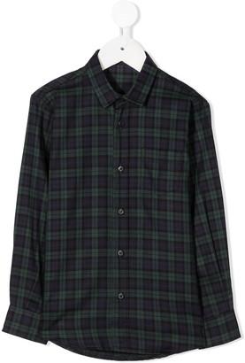 Il Gufo Plaid Cotton Shirt