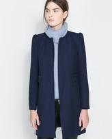 Zara Crewneck Coat