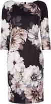 Roman Originals Floral Print Scuba Dress