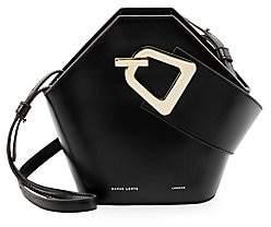 Danse Lente Women's Mini Johnny Geometric Leather Bucket Bag