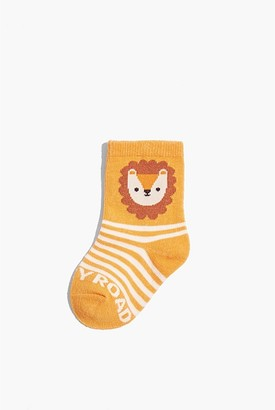 Country Road Lion Sock