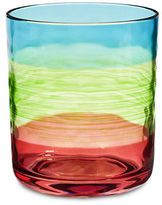 Distinctly Home Multistripe Double Old Fashion Glass