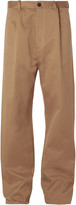 Balenciaga - Wide-leg Cotton-blend Chinos