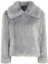 Topshop Claire luxe faux fur coat