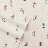 Eddie Bauer Ski Slope Flannel Sheet Set