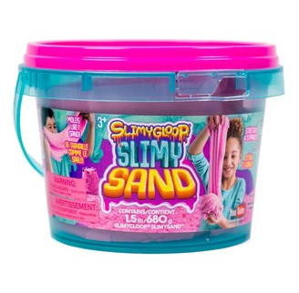 Slimygloop SlimySand 1.5 lb Bucket - Pink