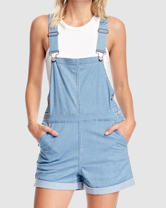 RES Denim Women's Blue Jeans - Hailey Overalls - Size One Size, XS at The Iconic