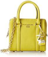 Nannini Women's B10126 Top-Handle Bag yellow