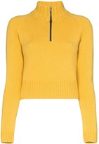 By Any Other Name high neck zipped jumper