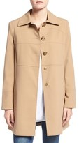 Larry Levine Women's Club Collar Walker Coat