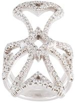 Loree Rodkin Maltese cross diamond ring