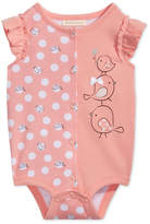 First Impressions Bird Graphic-Print Cotton Bodysuit, Baby Girls, Created for Macy's