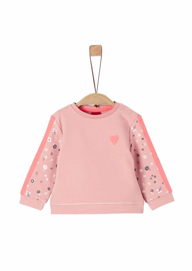 S'Oliver Baby Girls' 65.908.41.2768 Sweatshirt