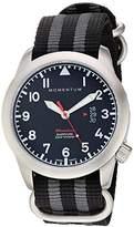 Momentum Men's 'Flatline' Swiss Quartz Stainless Steel and Nylon Casual WatchMulti Color (Model: 1M-SP18BS7S)