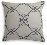 Sferra Solari Embellished Linen Pillow