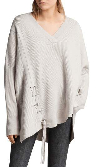 AllSaints Able Laced Sweater