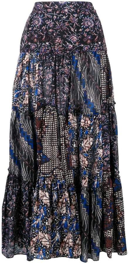 Asilia printed maxi skirt