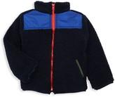 Andy & Evan Little Boy's Reversible Fleece Jacket
