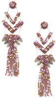 Deepa Gurnani Neo Statement Earrings