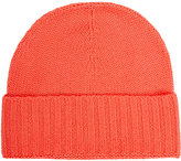 Barneys New York WOMEN'S FOLDED-CUFF CASHMERE HAT-PINK