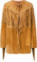 Wandering western fringe jacket