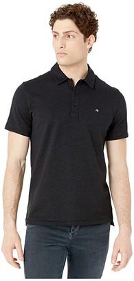 Rag & Bone Classic Polo (Black) Men's Clothing