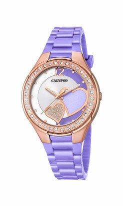 Calypso Women's Analogue Analog Quartz Watch with Plastic Strap K5679/O