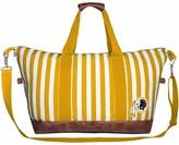 Redskins Unbranded Women's Washington Striped Weekender Bag