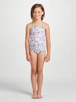 Oscar de la Renta Botanical Flora Classic Swimsuit