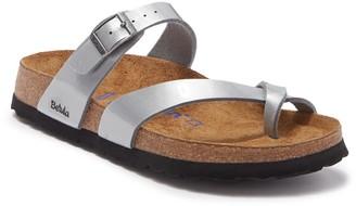 Birkenstock Mia Soft Footbed Silver Slide