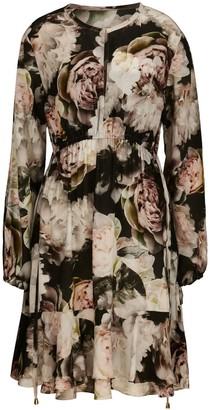 Ethereal London Isla Print Tunic Dress