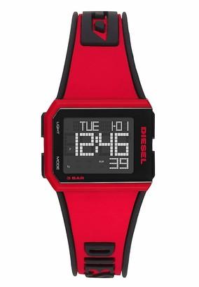 Diesel Men's Analogue-Digital Watch with Silicone Strap DZ1923