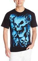 Liquid Blue Men's Vampire Skulls T-Shirt