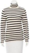 IRO Seely Striped Turtle Neck Sweater