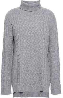 Parker Chinti & Cable-knit Wool And Cashmere-blend Turtleneck Sweater