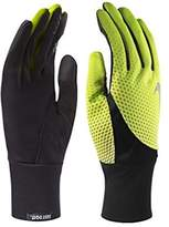 Nike Men's Dri-Fit Tailwind Gloves-Volt/Black-XL