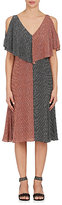 Derek Lam Women's Geometric-Print Silk Dress