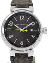 Louis Vuitton Tambour Stainless Steel Quartz 38mm Mens Watch