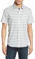 Jack Spade Men's Berber Stripe Sport Shirt