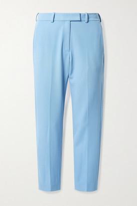 Racil Oscar Drill Straight-leg Pants - Sky blue