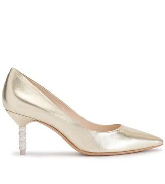 Sophia Webster Coco crystal heel pumps