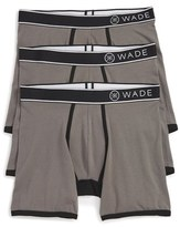 Naked Men's Wade Stretch Cotton Boxer Briefs