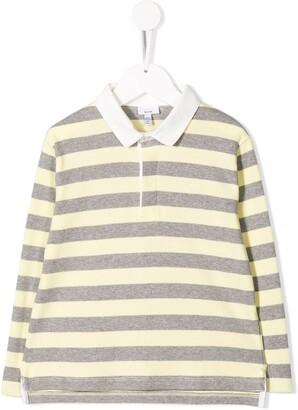 Knot Striped Polo Shirt
