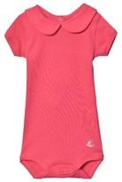 Petit Bateau Bright Pink Short Sleeve Body