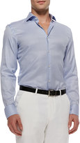 HUGO BOSS Jason Textured Sport Shirt, Blue