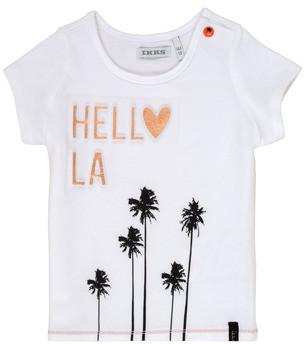 Ikks HIDA girls's T shirt in White