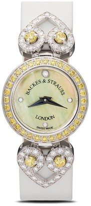 Backes & Strauss Miss Victoria Fancy Canary 18mm