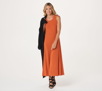 Women With Control Attitudes by Renee Regular Duster & Sleeveless Maxi Dress Set