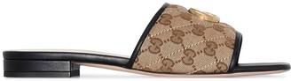 Gucci GG canvas sandals